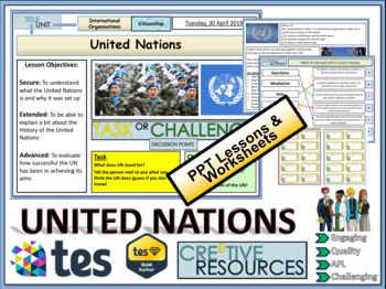 The United Nations Lessons