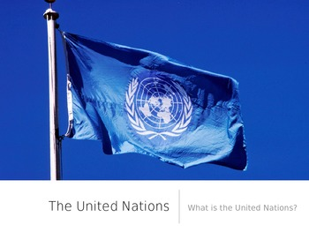 The United Nations - PowerPoint and Keynote Presentation