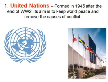 The United Nations and World Peace