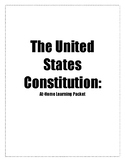 The United States Constitution At-Home Learning Packet