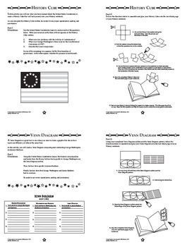 The U.S. Constitution Interactive Notebook Unit