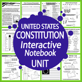 United States Constitution Early American Government Interactive Notebook Unit