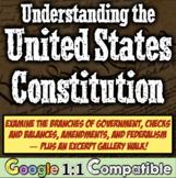 Legislative Branch, Executive Branch, & Judicial Branch Constitution Simulation!