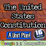 Constitution Unit: 16 lessons to teach the US Constitution | Distance Learning