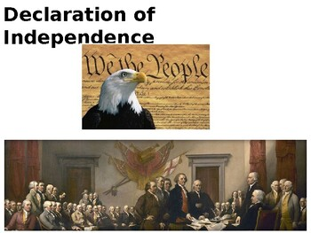 The United States Declaration of Independence - Illustrated Guide and Quiz