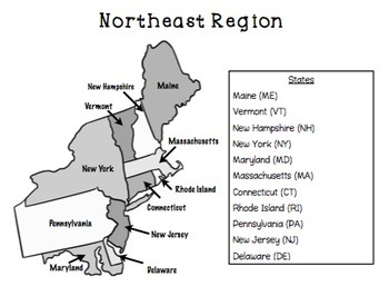 The United States - Geography and State Capitals
