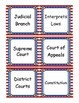 The United States Government Input Chart Cards