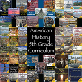 The United States History Full Year Interactive Notebook Curriculum Super Bundle