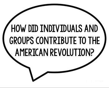 The United States  Objective, EQs, & Vocabulary Bundle