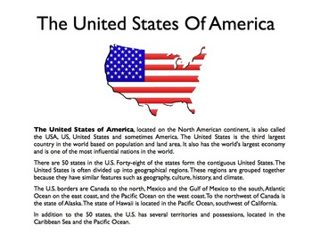 The United States PowerPoint