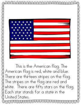 The United States: Symbols, People and Landmarks--A mini unit