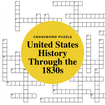 The United States Through 1830s: Balancing Nationalism & Sectional Differences