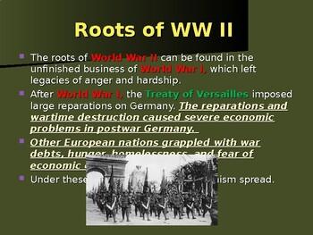The United States & WW II