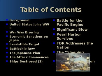 World War II - Pacific Theater - The Attack on Pearl Harbor