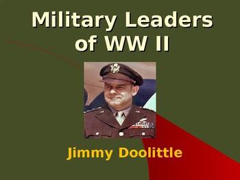 The United States & WW II - Military Leaders - Jimmie Doolittle