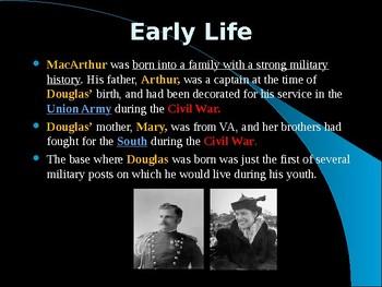 The United States & WW II - Military Leaders - Douglas MacArthur