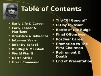 The United States & WW II - Military Leaders - Omar Bradley