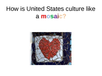 Powerpoint: United States as a Culture of Diversity
