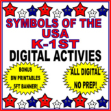The United States and Its Symbols For Kindergarten/1st Gra