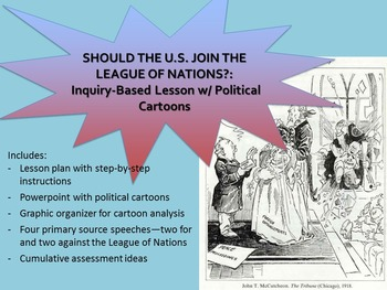 Why Didn't the U.S. Join the League of Nations?: Primary Source Based Lesson