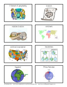 The United States in Spatial Terms Teacher Resources Set