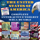 The United States of America Complete Interactive Toolkit Mega Bundle