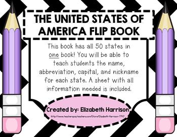 The United States of America Flip Book