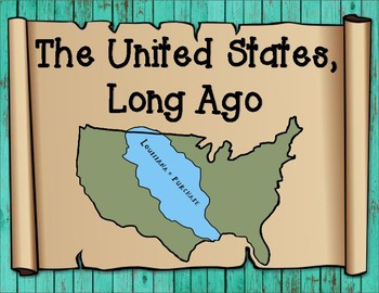 The United States of America Long Ago Analyzing a Map Graphic Organizer