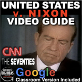 Watergate United States v Nixon: CNN's Seventies Video Guide + Distance Learning