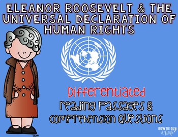 The Universal Declaration of Human Rights and Eleanor Roosevelt Reading Passages