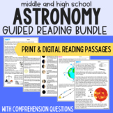 The Universe & Space Science Guided Readings Bundle