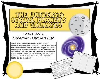 The Universe:  Stars, Planets and Galaxies Information Cha