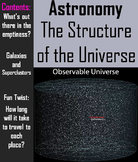Structure of the Universe PowerPoint (Space Science/ Astronomy Unit)