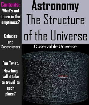 Structure of the Universe PowerPoint (Space Science/ Astro