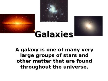 The Universe and Galaxies