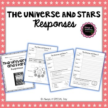 The Universe and Stars: Comprehension Responses