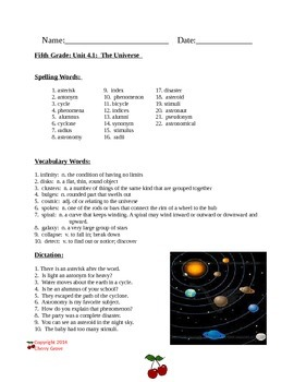 The Universe by Seymour Simon Imagine It Grade 5