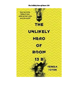 The Unlikely Hero of Room 13B Vocabulary List