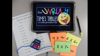 The Unruly Times Tables