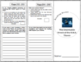 The Unsinkable Wreck of the R.M.S. Titanic - 5th Grade Rea