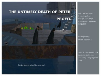 The Untimely Death of Peter Profit--A Graphic Novel