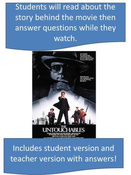 The Untouchables Movie Activity