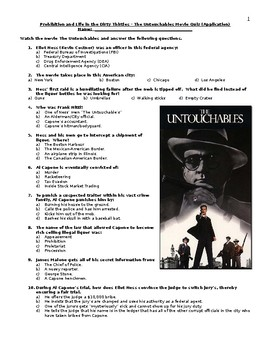 The Untouchables Quiz