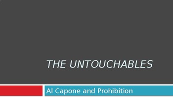 The Untouchables and Al Capone film unit