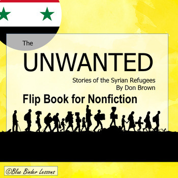 The Unwanted, Stories of the Syrian Refugees (Syria) Flip book