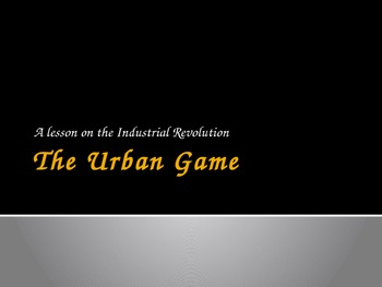 The Urban Game PowerPoint