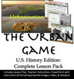 The Urban Game: US History W/ Game Instructions, Powerpoin
