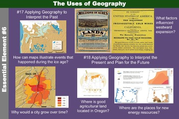 The Uses of Geography