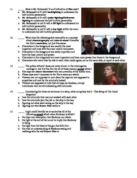 The Usual Suspects Film (1995) 15-Question Multiple Choice Quiz