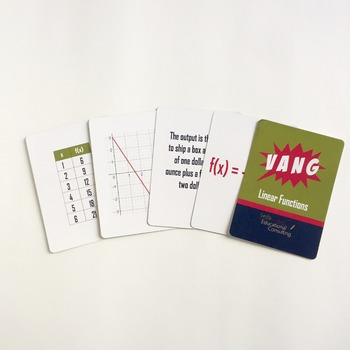 The VANG Game - Linear Functions